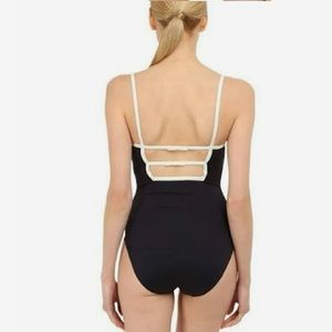 kate spade Swim - Kate Spade New York Navy bow back one-piece